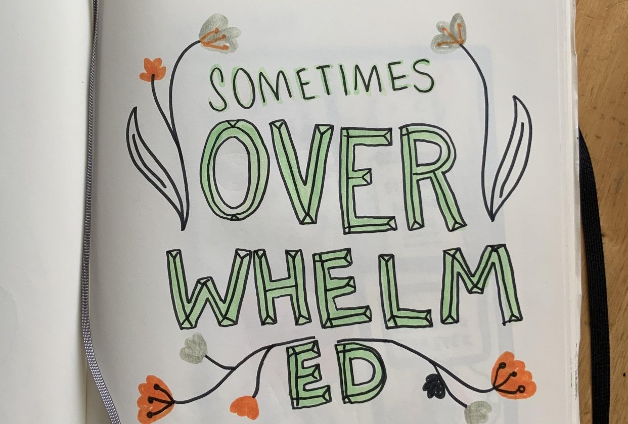Sometimes overwhelmed - student project