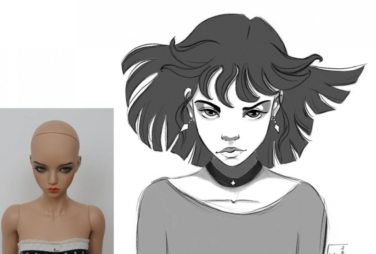 Sailor Hotaru - student project