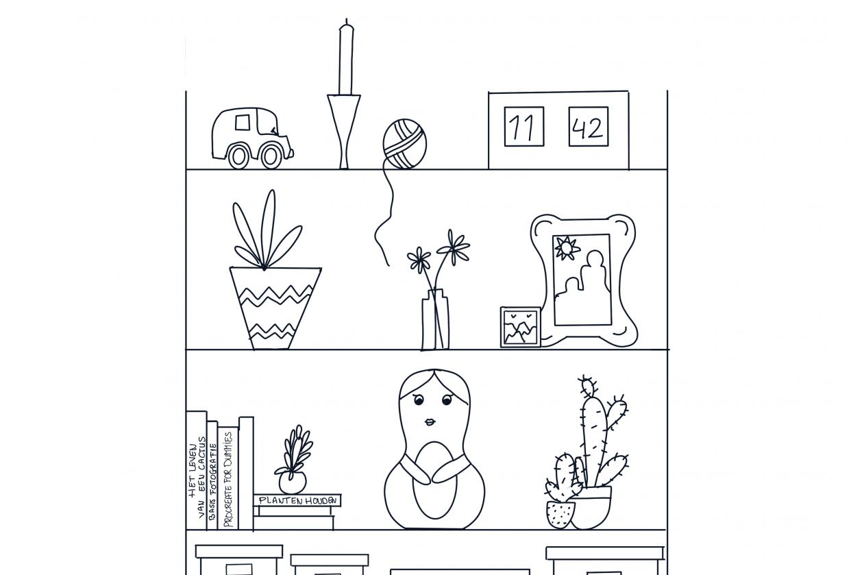 Bookshelf exercise - student project