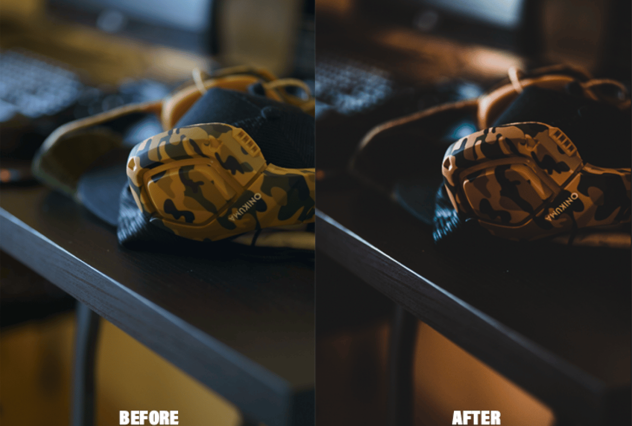 BEFORE / AFTER - student project