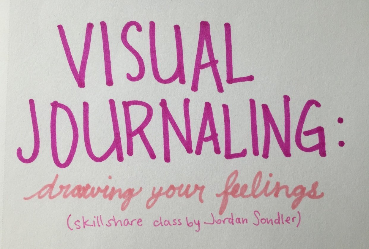 visual journaling - student project