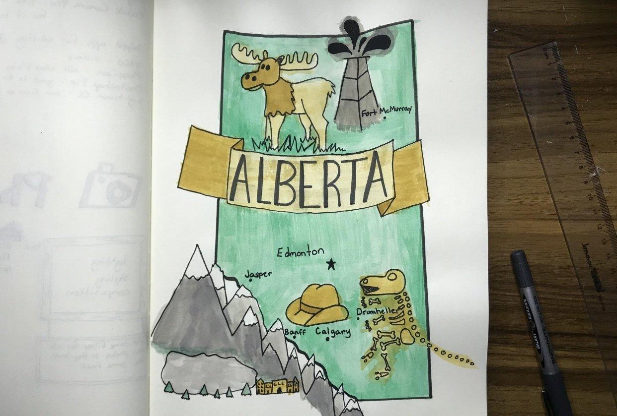 Alberta - student project