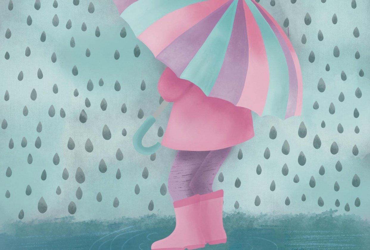 Spring illustration - student project