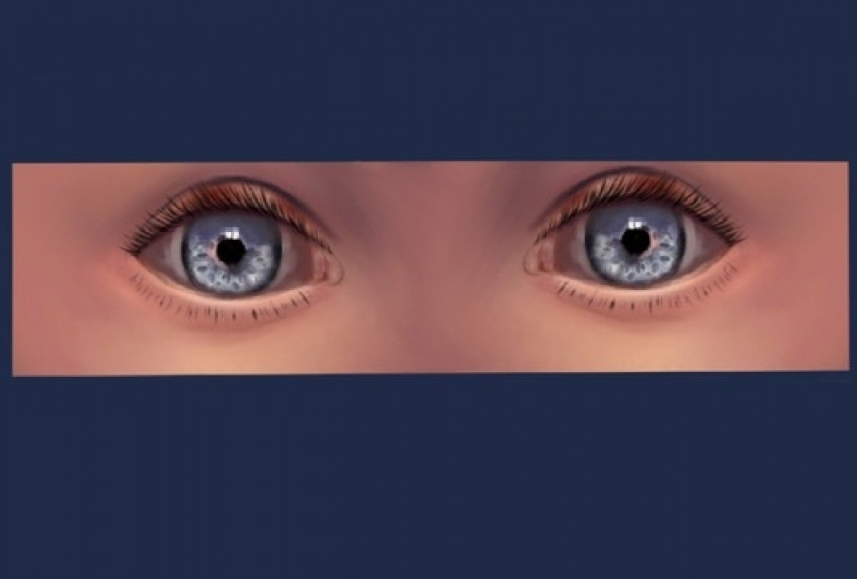 Painting Eyes - student project