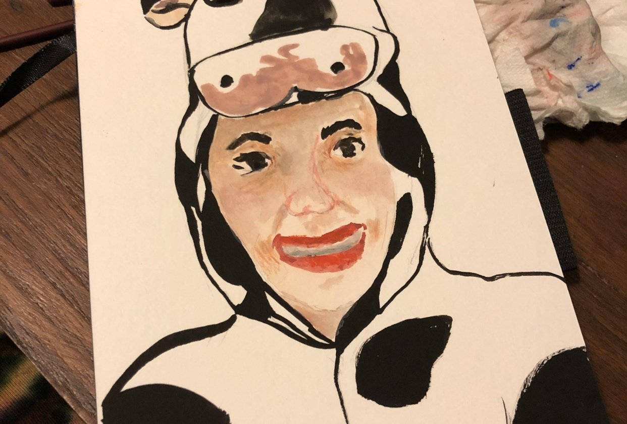 I love cows - student project