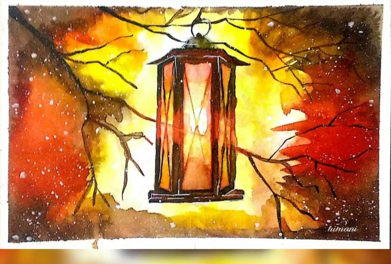 The Lantern, Freezing cold, The Bird House - student project