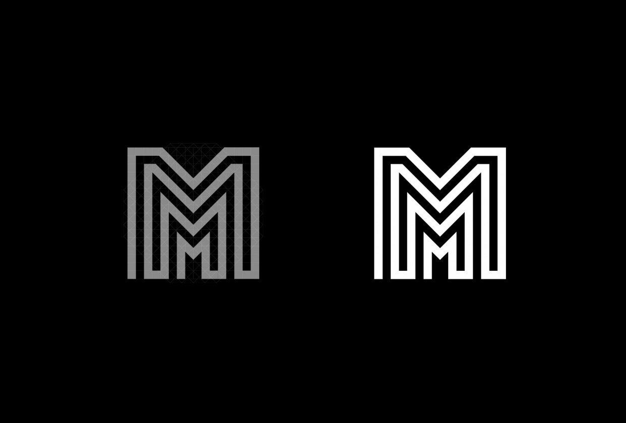 Mhel Fernandez Graphic Designer Logo - student project