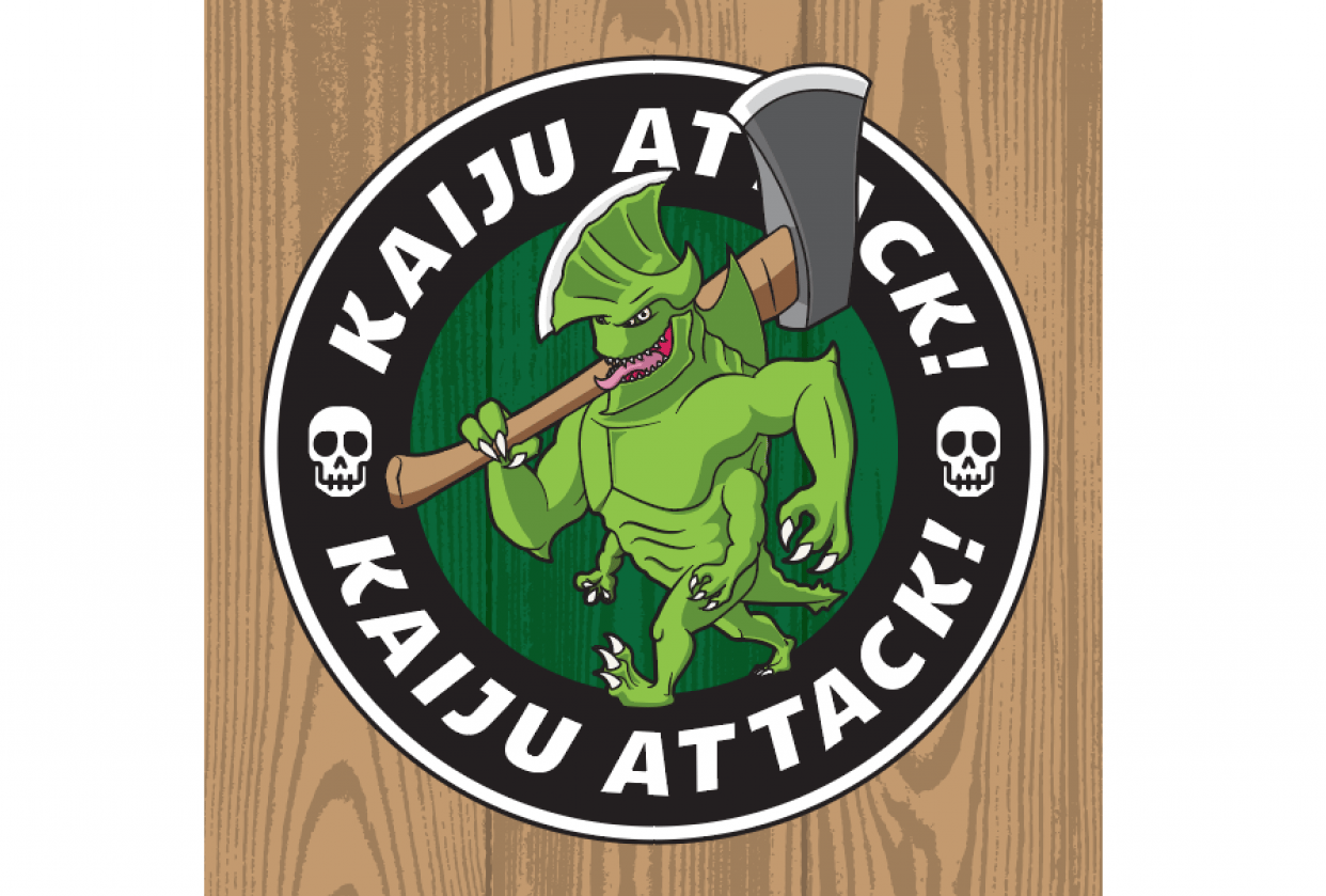 Kaiju Attack! Mascot - student project