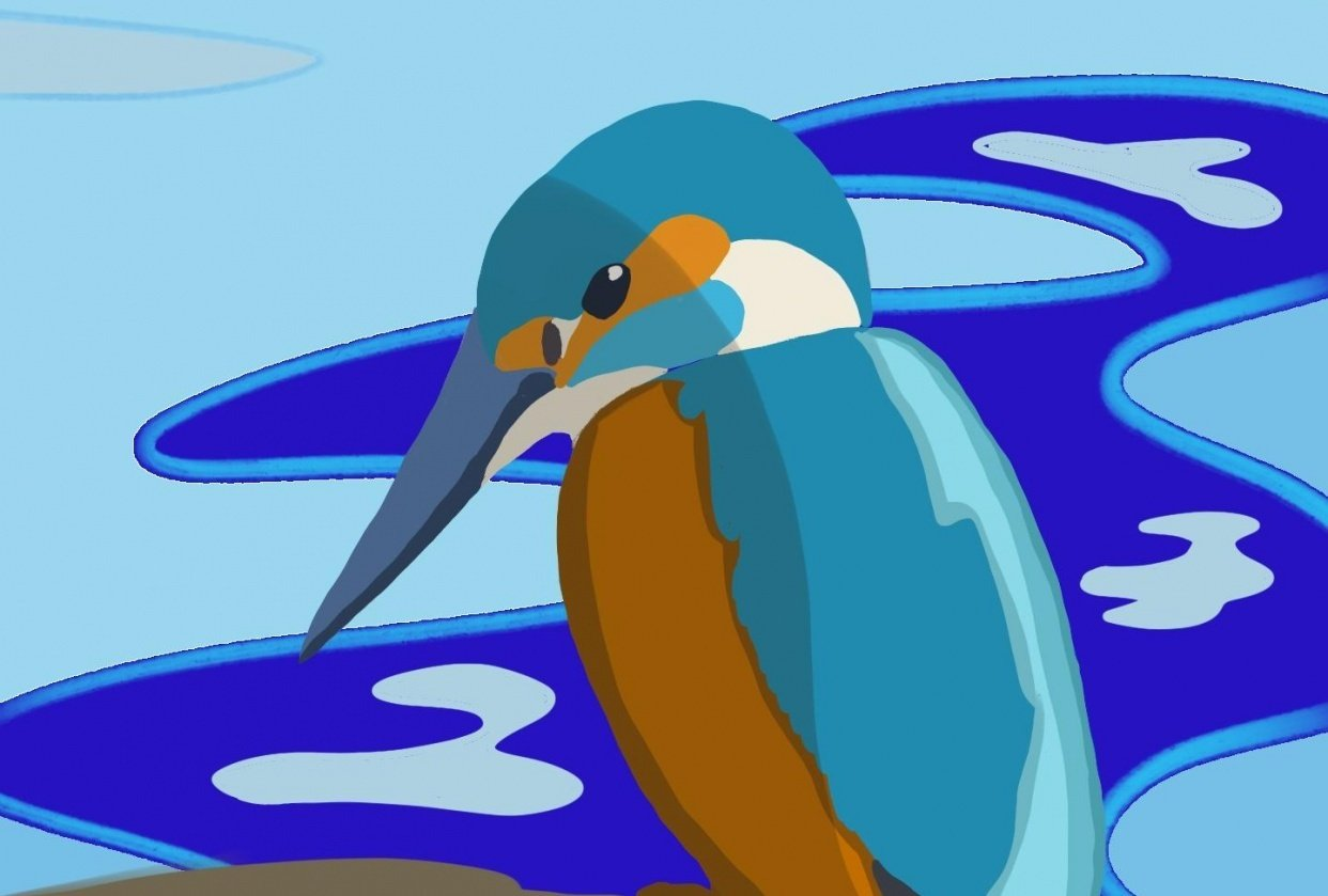 Mel's Kingfisher - student project