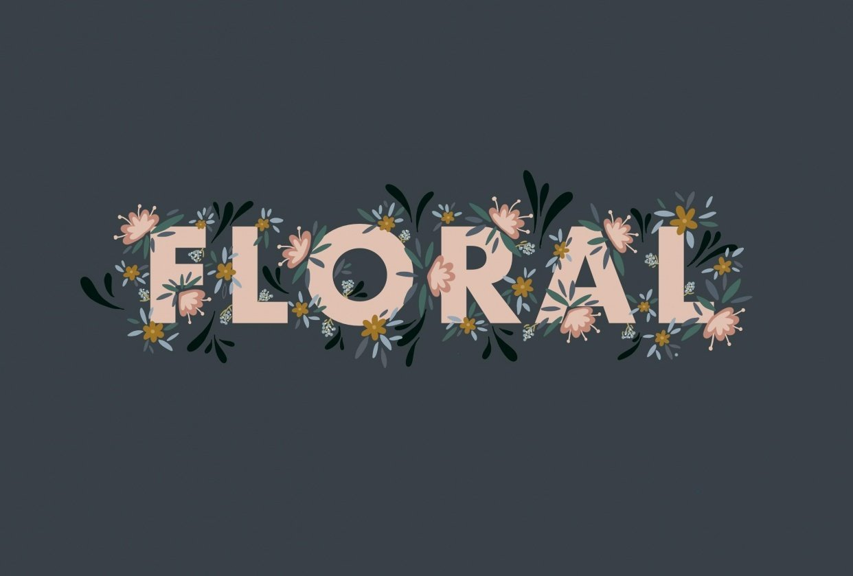 Floral - student project