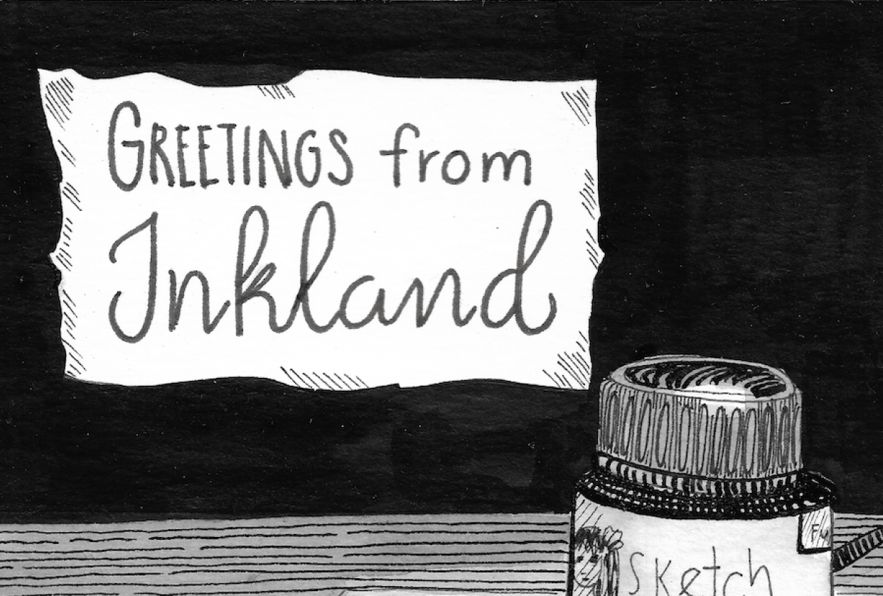 Greeting from Inkland - student project