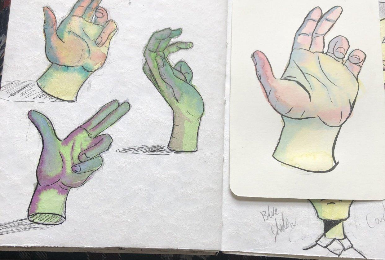 Arleebean hands part 2 1/3/20 - student project
