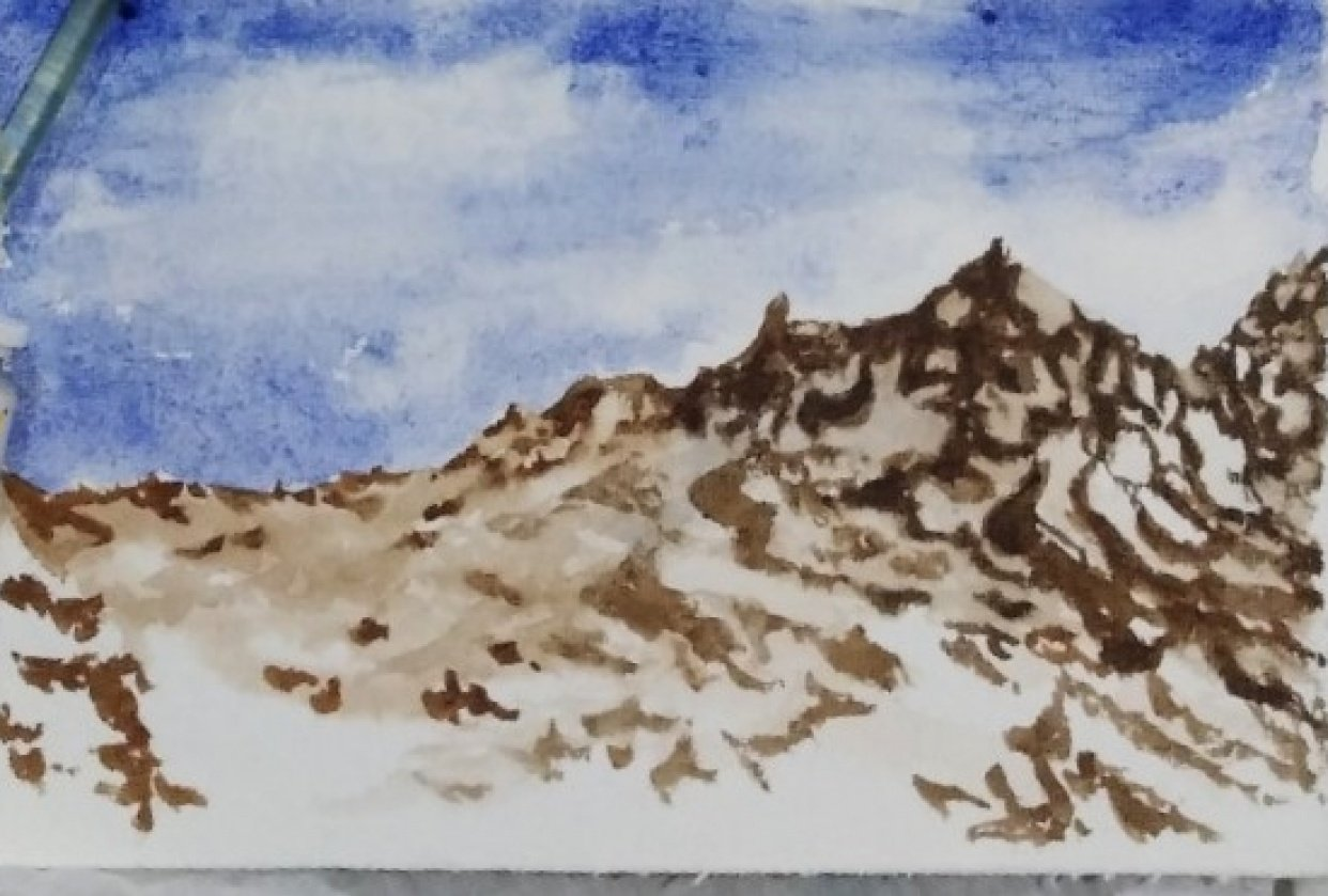 Mountain - student project
