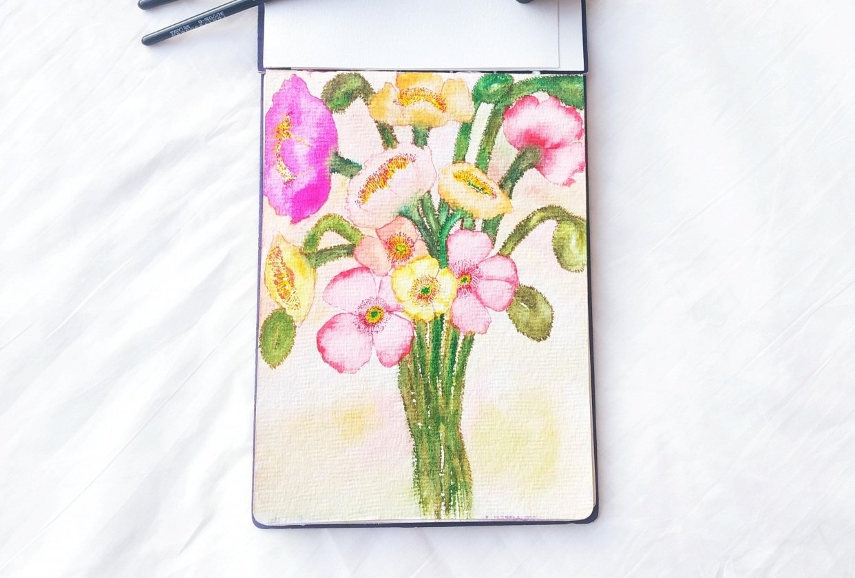 Iceland Poppies - student project
