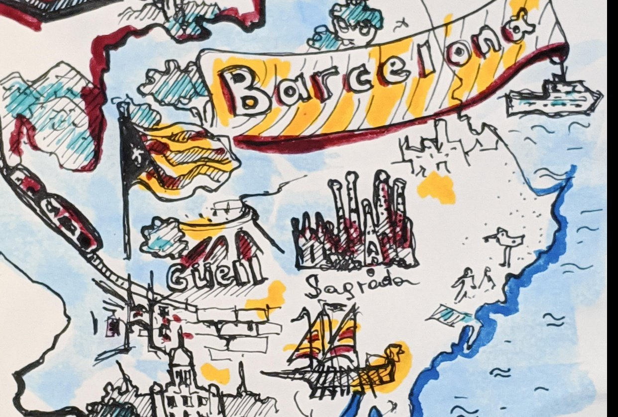 Trip to Barcelona - student project