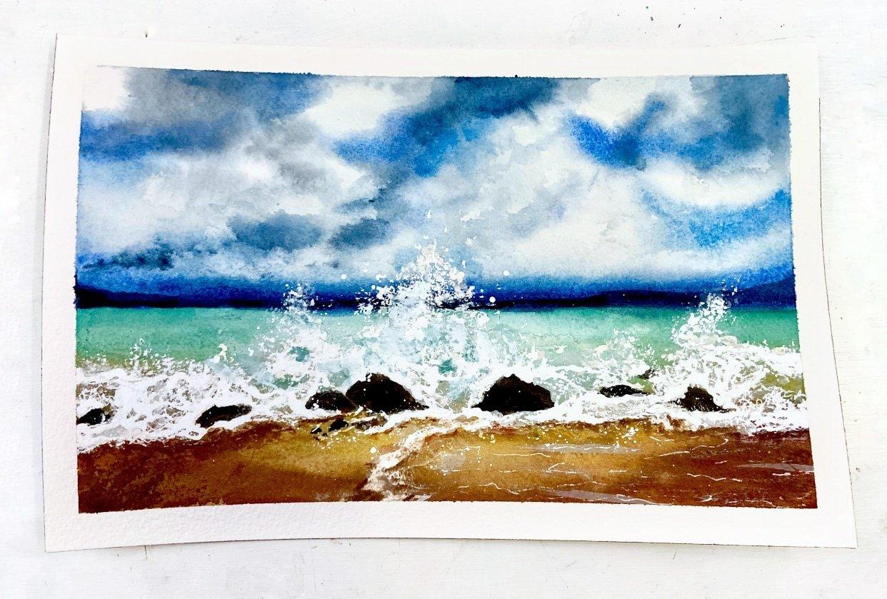 Crashing Waves - student project