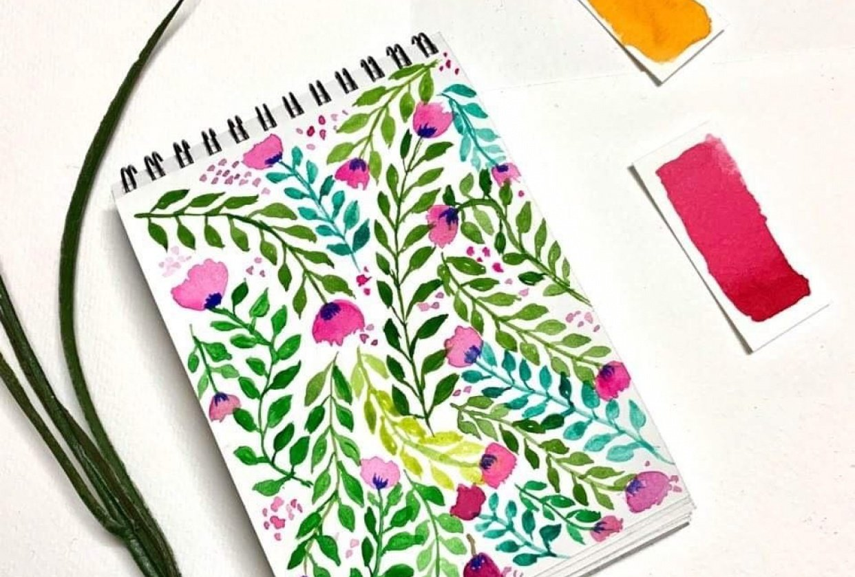 floral patterns ! - student project