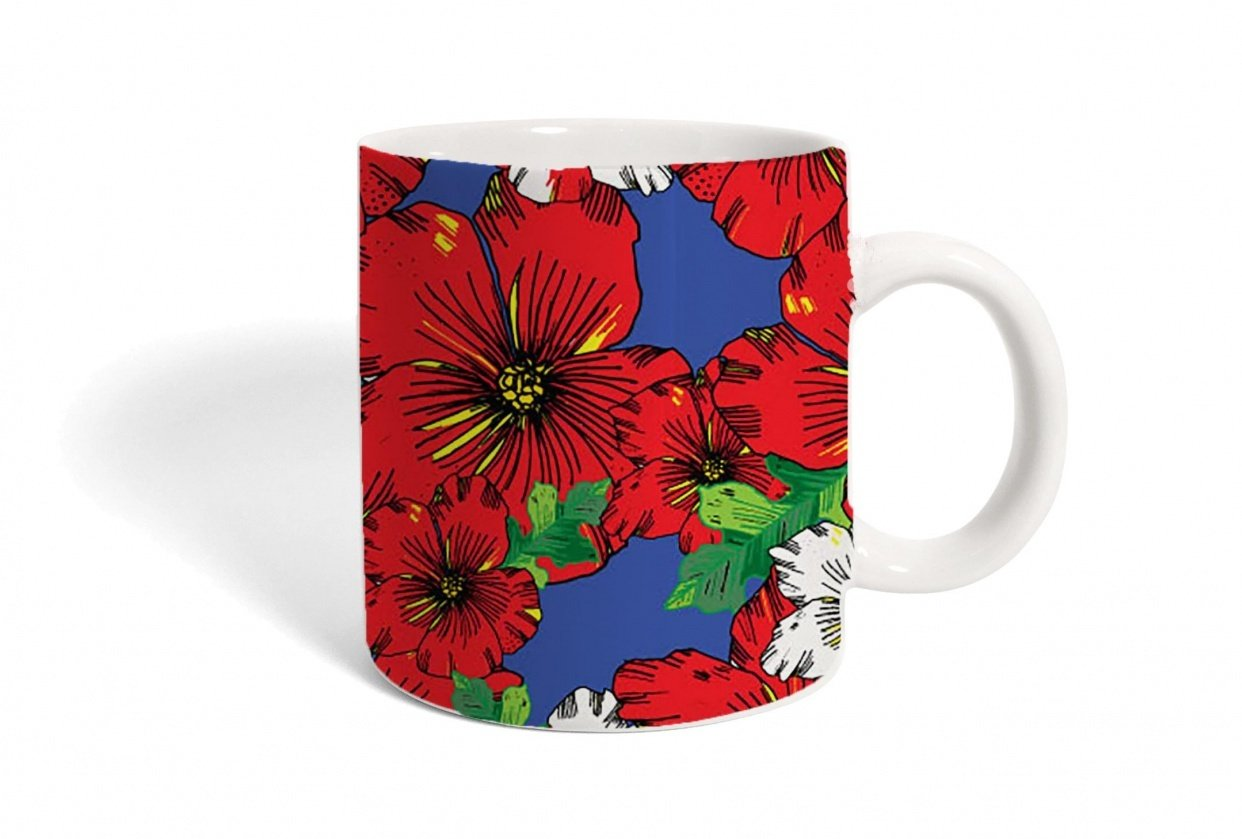 Hawaii coffee mug - student project