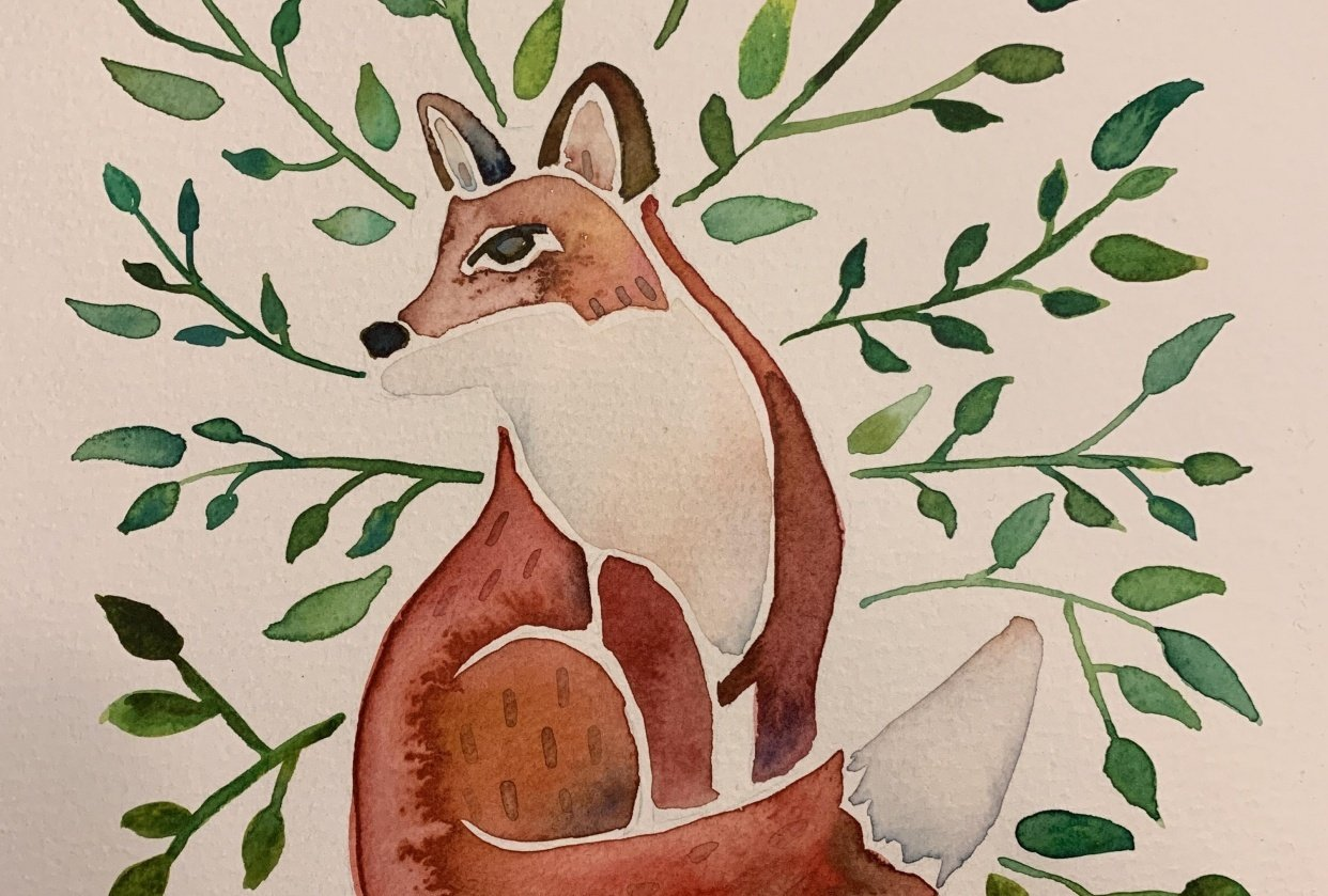 Fox from Cat Coq's Class - student project