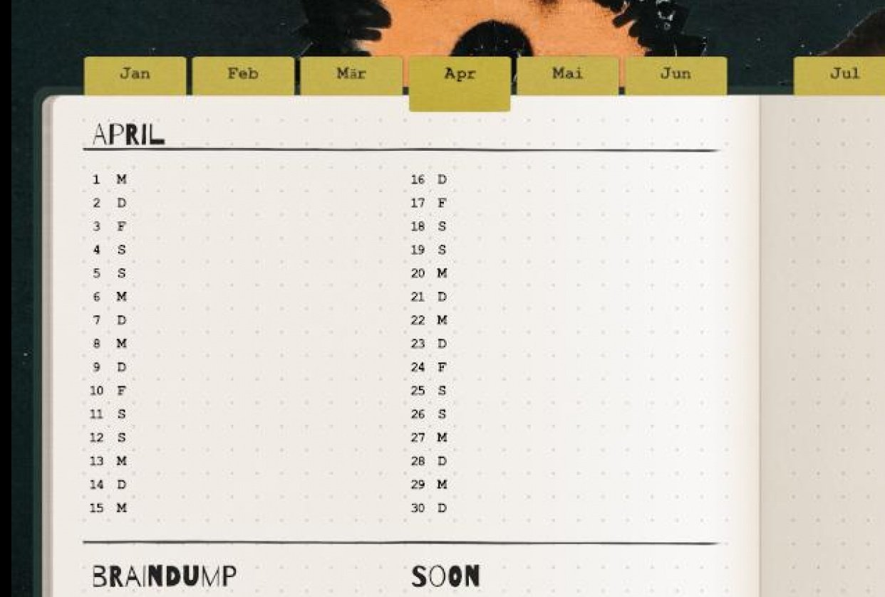 Digitizing my Bullet Journal - student project