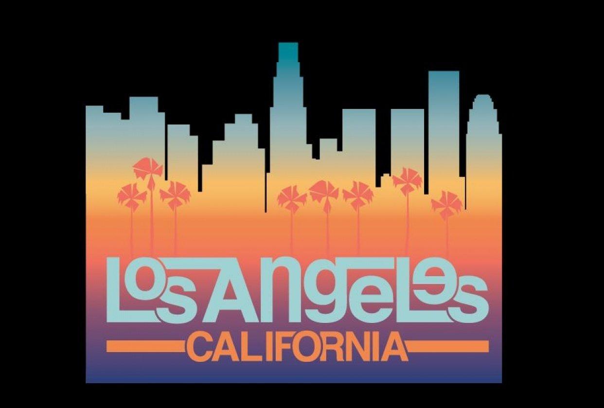 LA Wordmark - student project