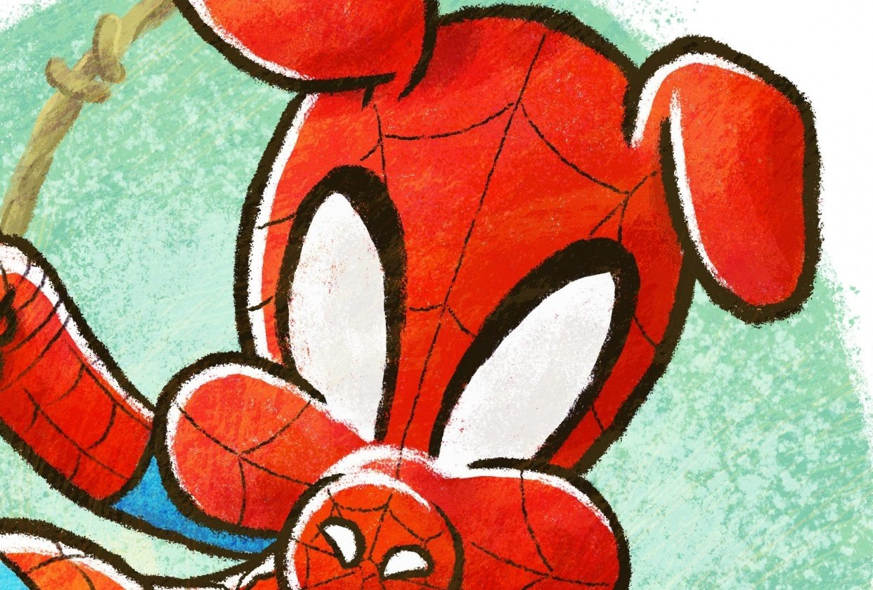 Peter Porker AKA Spider-Ham - student project