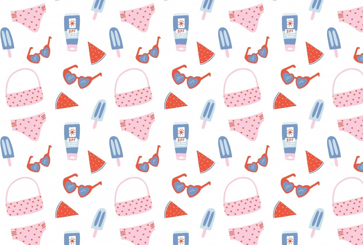 Summer Surface Pattern - student project