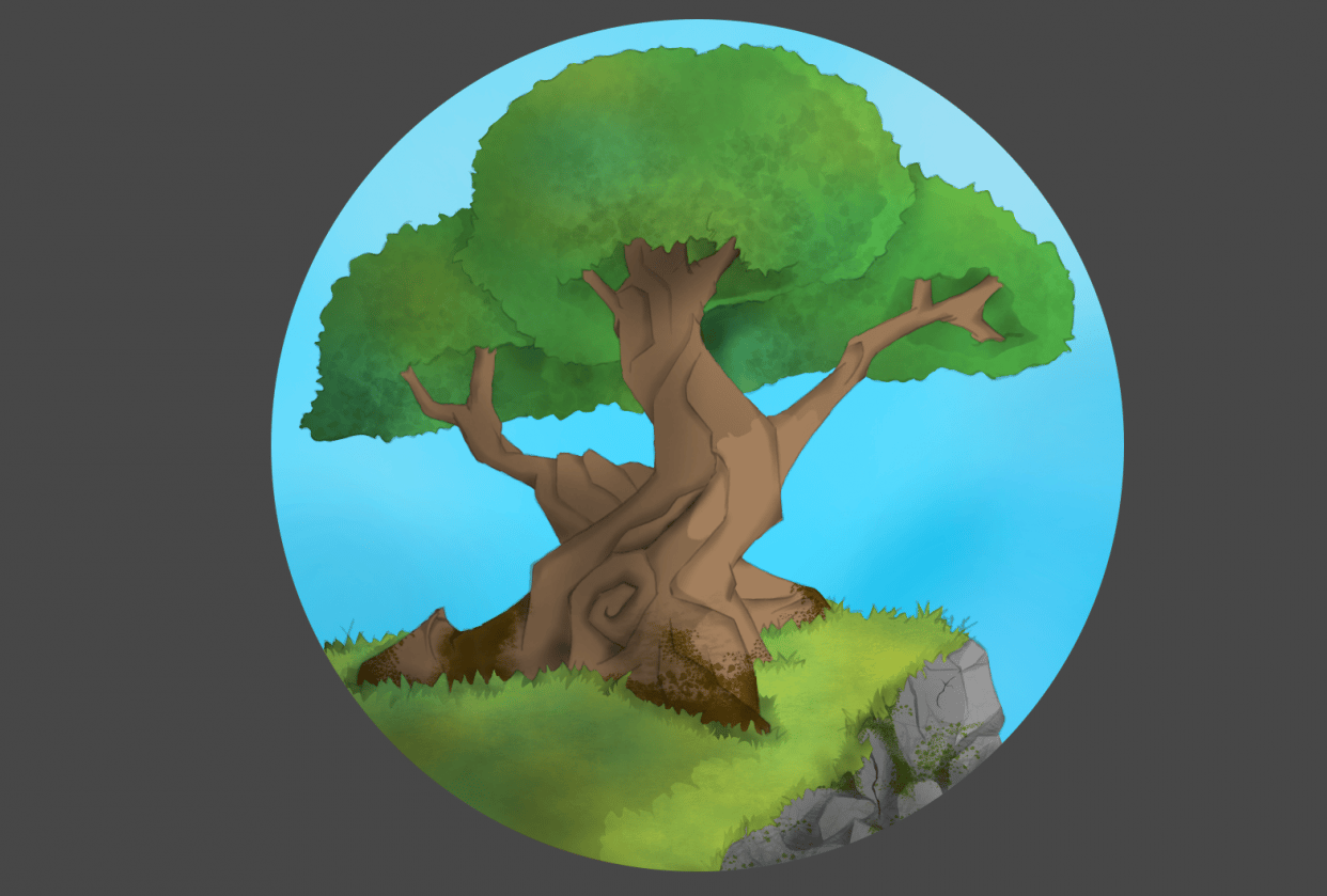 Beginner Krita course projects - student project