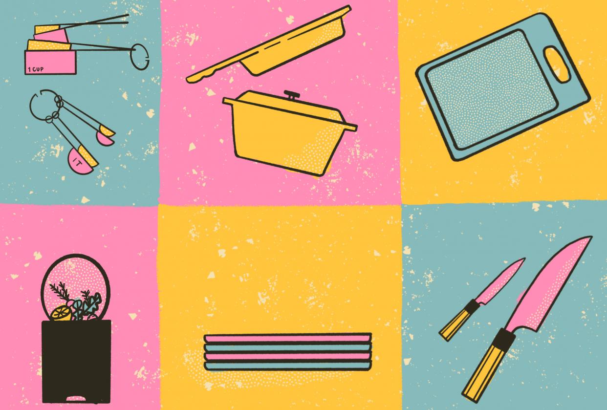 Kitchen Essentials - student project
