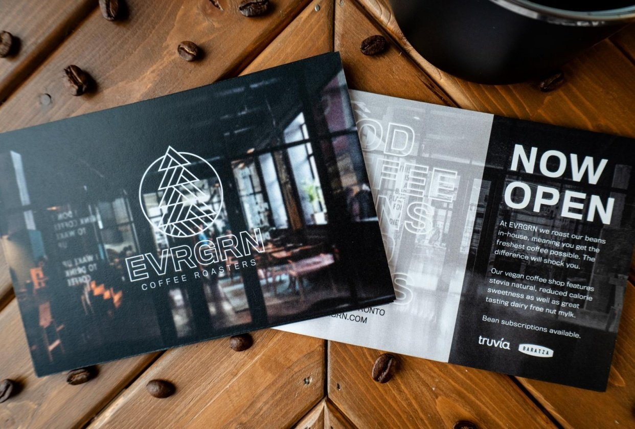 EVRGRN Coffee Roasters - student project