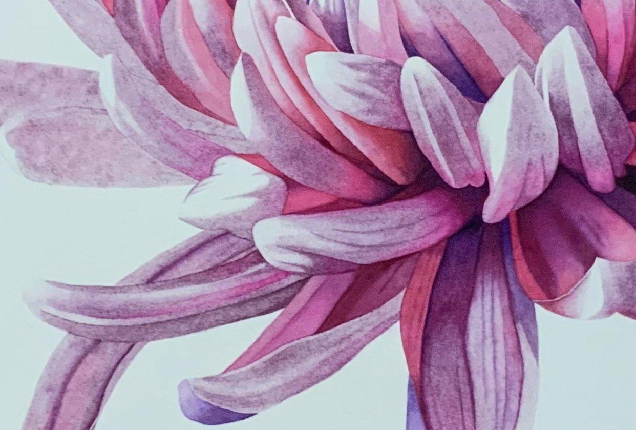 Master Watercolor Techniques: Paint a Watercolor Chrysanthemum - student project