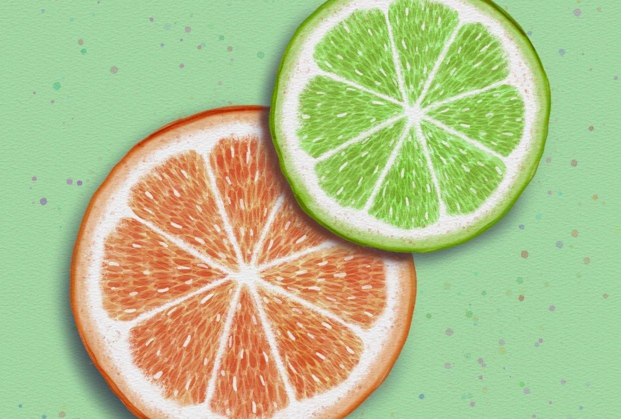 Citrus Slices - student project