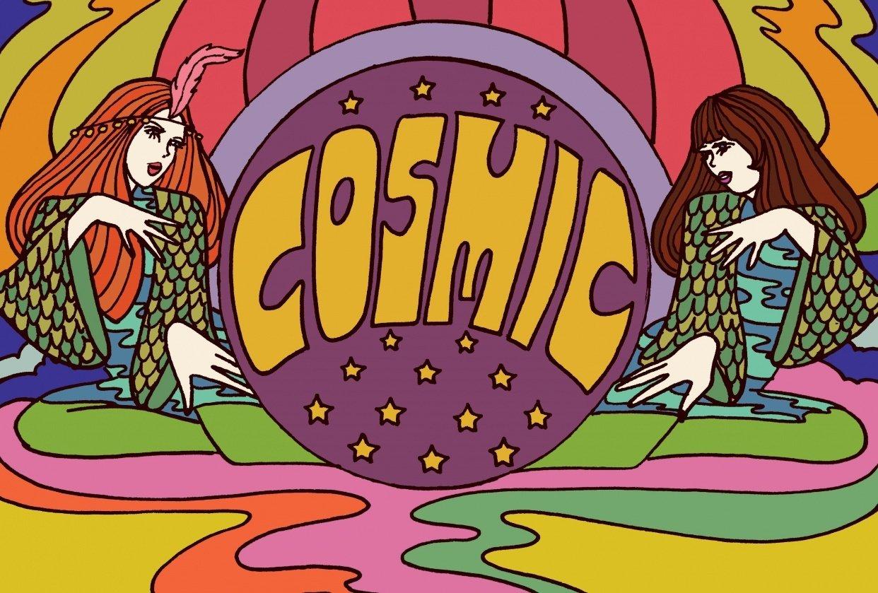 Cosmic Magazine - student project