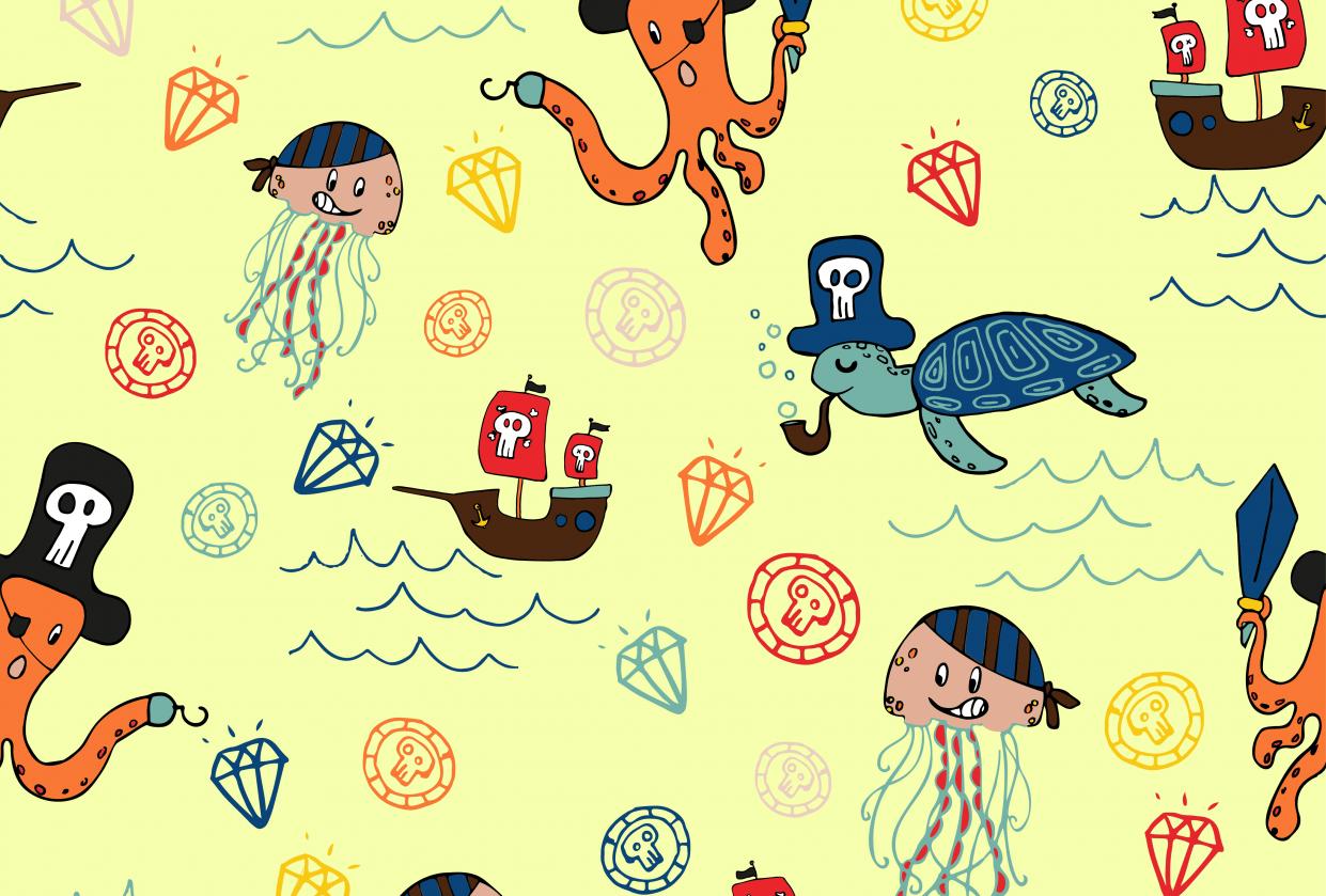 Fish Pirates- Cordinates - student project