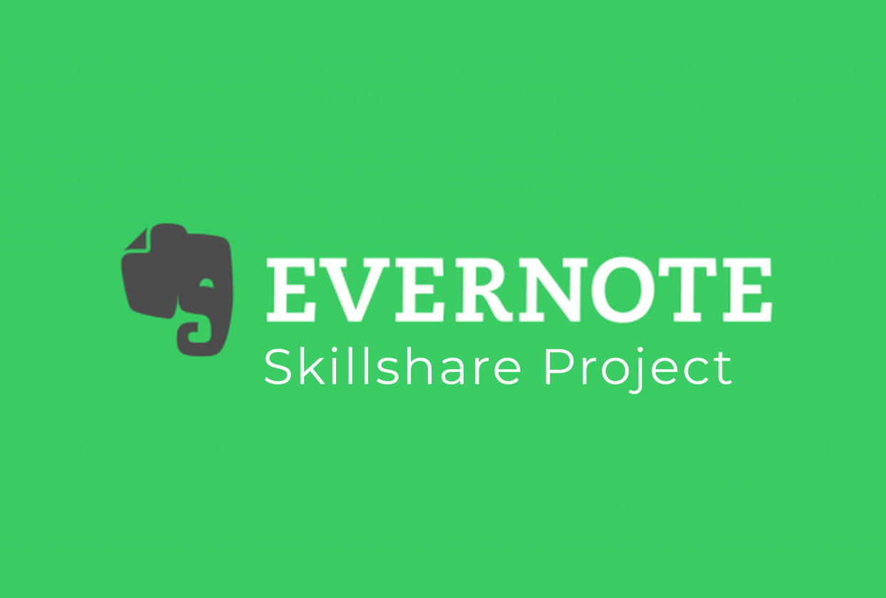 Evernote, my new favorite tool! - student project