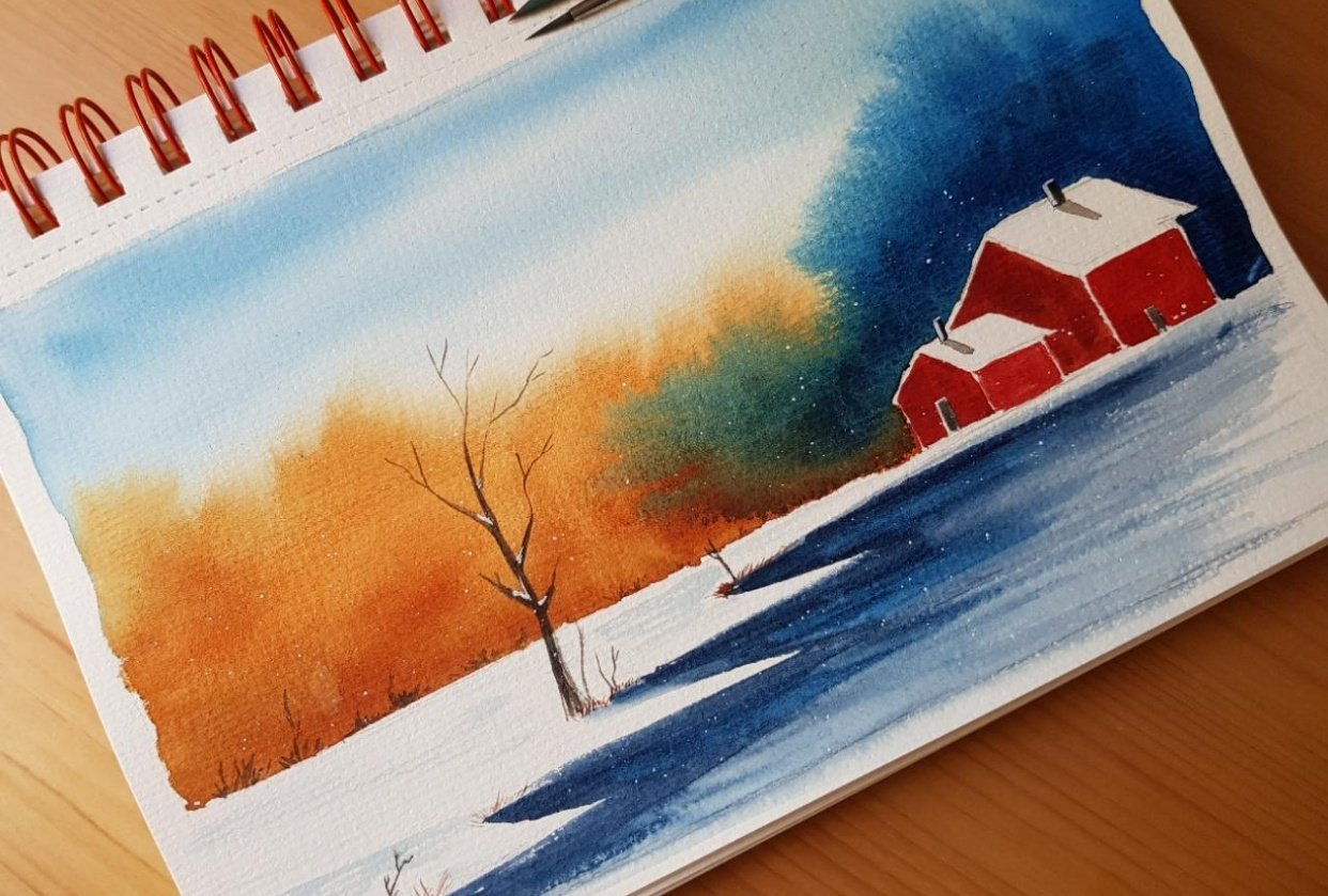 Winter landscapes - student project