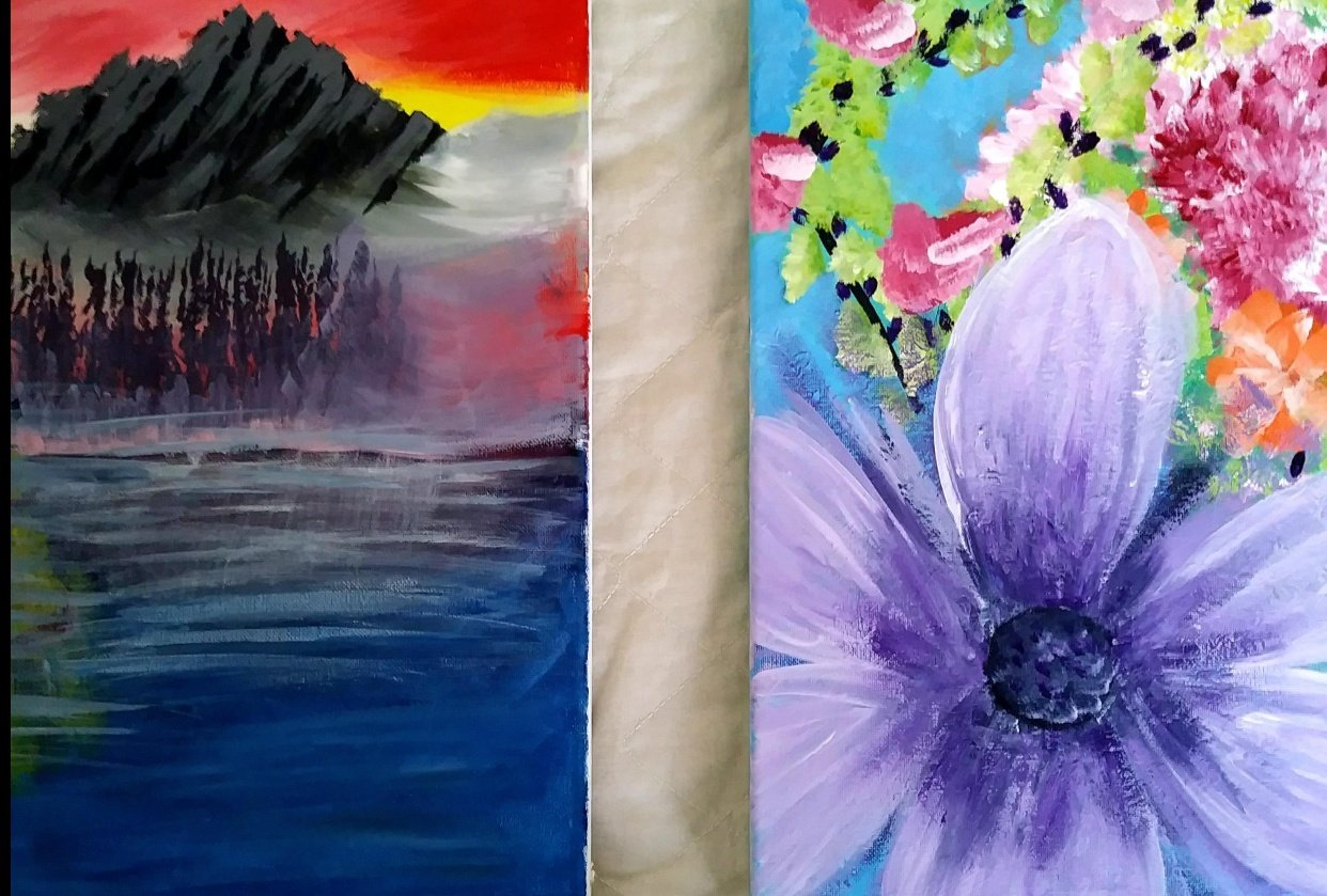April's Favorite Paintings To Date - student project