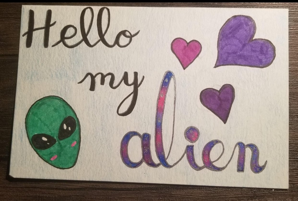 Hello my alien - student project