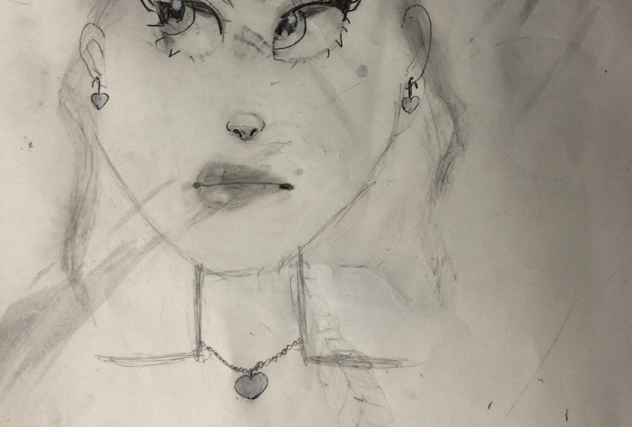 Sketchbook work - student project