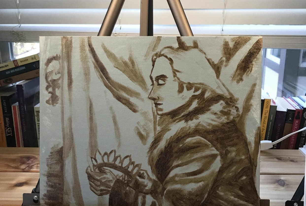 Underpainting - student project