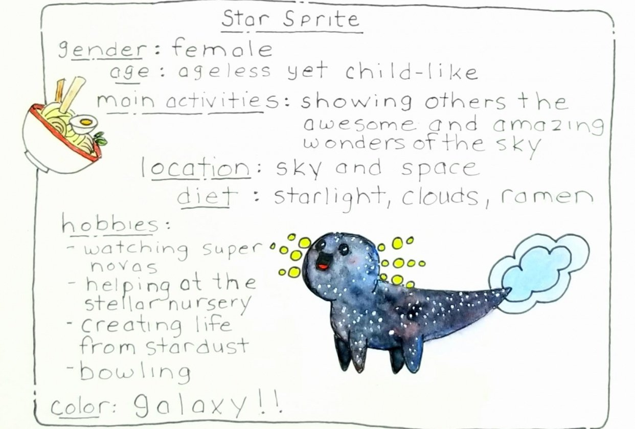 The Star Sprite - student project