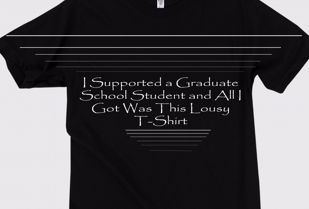 I Supported A College Student... - student project