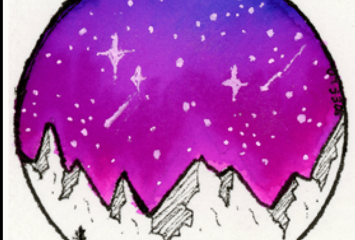 Tombow Galaxy Sky - student project