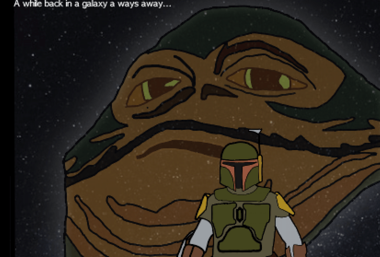 Bootleg Star Wars - student project
