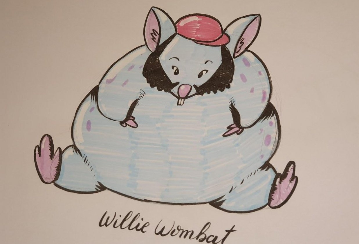 Willie Wombat - student project