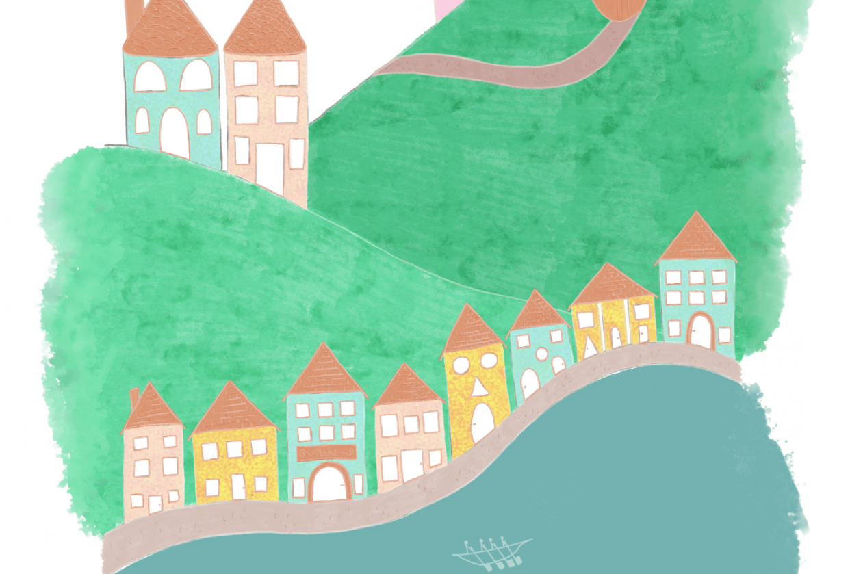 Storybook Illustration in Adobe Fresco - student project