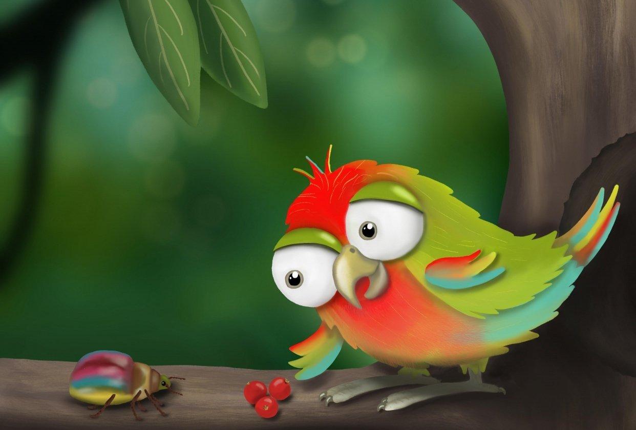 Lovebird - student project