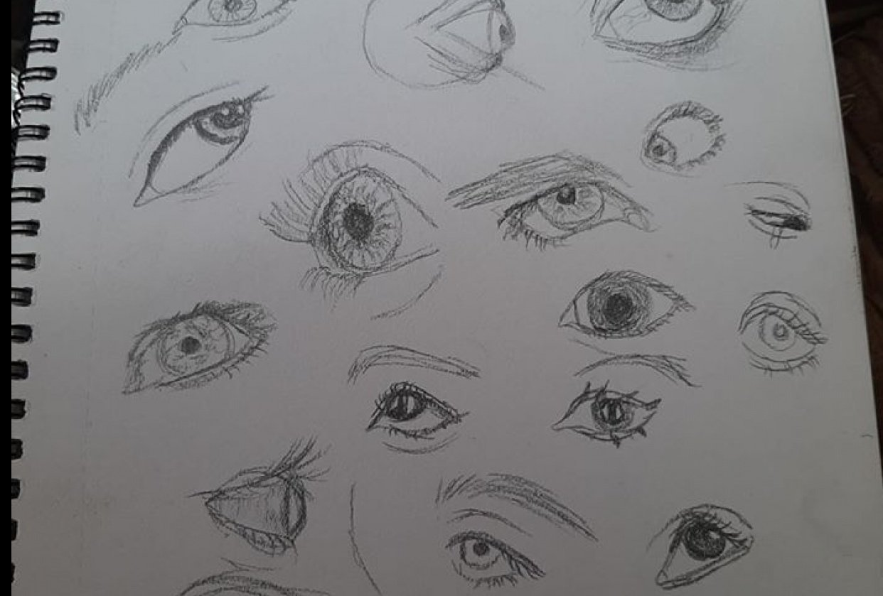 eyes (and one face) - student project