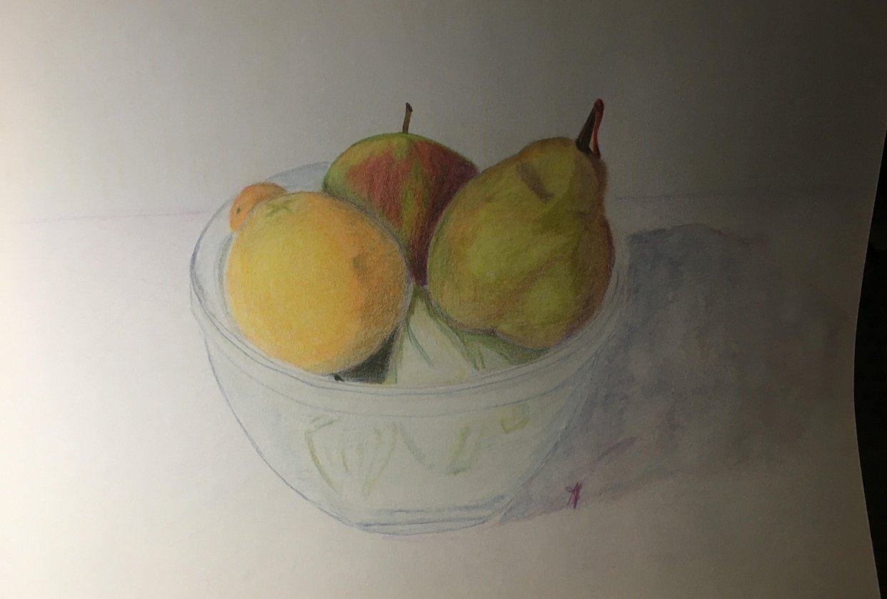Apple, Pear and Orange - student project