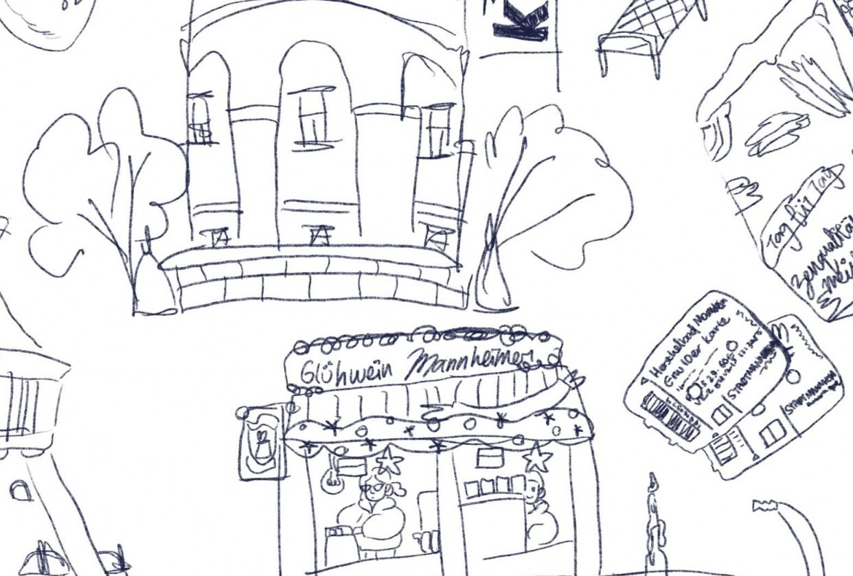 WIP// Germany: Things I did in Mannheim to kill winter blues - student project